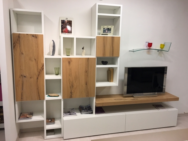 Living bookcase LOGICO